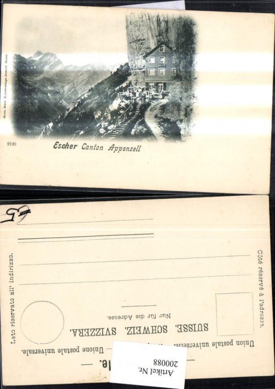 200088,Escher Kt Appenzell