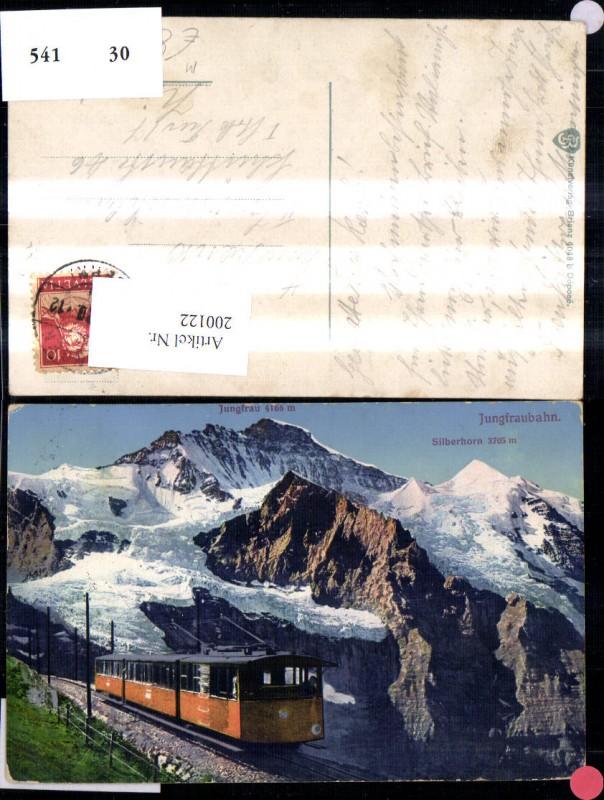200122,Jungfraubahn Bergbahn Kleine Scheidegg Kt Bern 0