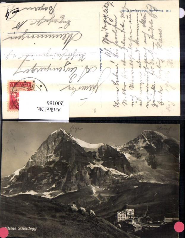 200166,Kleine Scheidegg Grindelwald Kt Bern