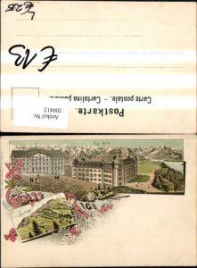 200412,Litho AK Gruß vom Rigi Rigi-Kulm Rigi Staffel Mehrbildkarte Kt Luzern
