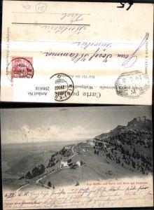 200418,Rigi-Staffel u. Kulm u. Blick auf Zugersee See Kt Luzern