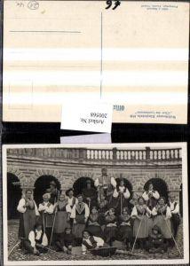 200568,Welttheater in Einsiedeln 1930 Chor d. Landmannes Gruppenfoto Kt Schwyz
