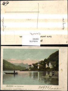 200585,Quinten am Wallensee Teilansicht Kt St Gallen