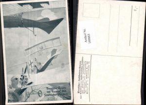 189883,Künstler AK Oland Deutsche Taube Aeroplan Kampf Deutscher Luftflottenverein