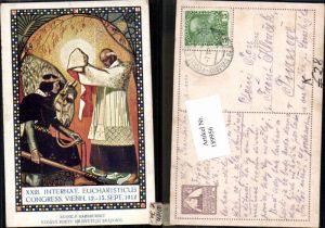 189956,Künstler AK Josef Reich XXIII Internat. Eucharisticus Congress Eucharistischer Kongress Wien 1912