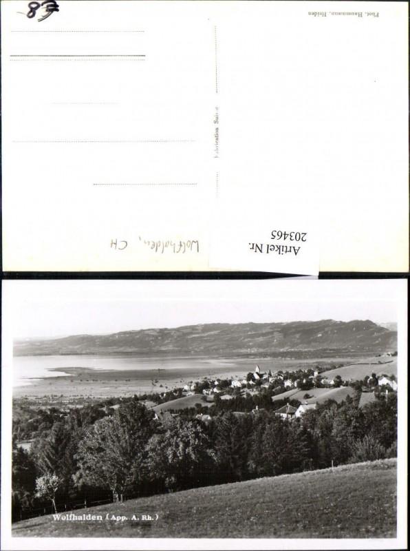 203465,Wolfhalden Totale Kt Appenzell