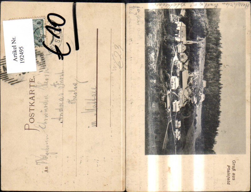 192495,Plainfeld b. Salzburg Totale  0