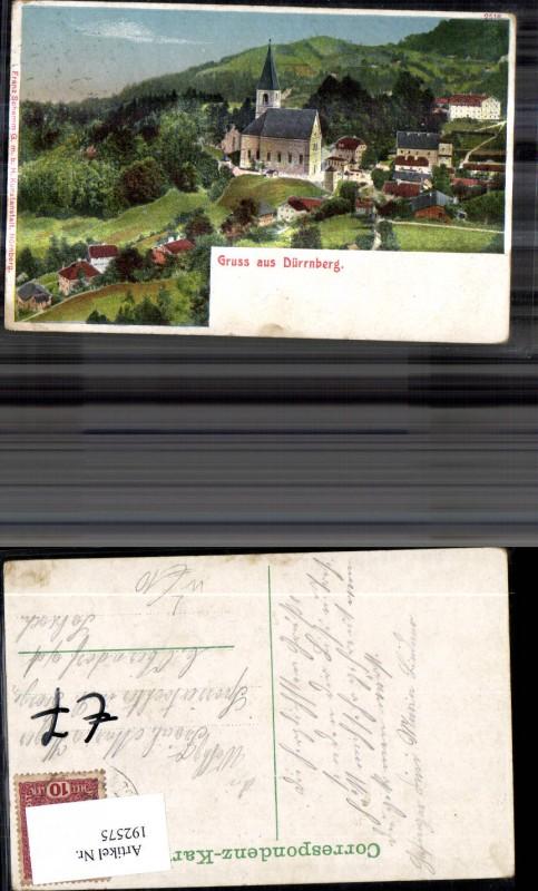192575,Litho Dürrnberg Bad Dürrnberg  0