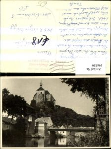 196329,Raabs Drosendorf Brücke Kirche