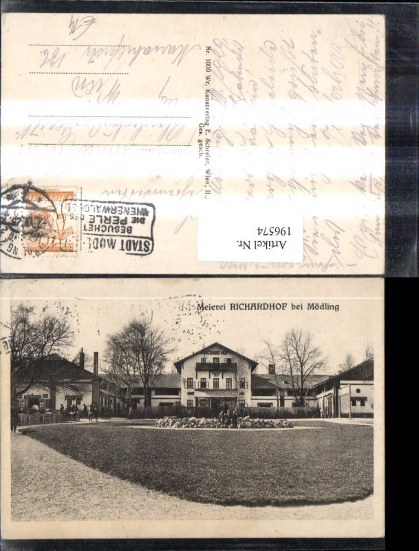 196574,Meierei Richardhof b. Mödling 0