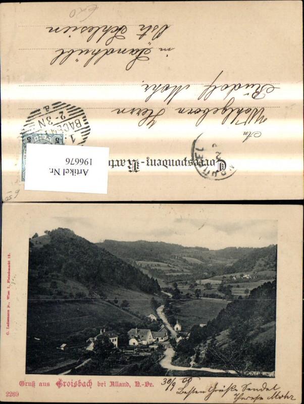 196676,Groisbach b. Alland  0