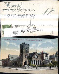 204062,New Jersey Atlantic City St James Episcopal Church and Manse