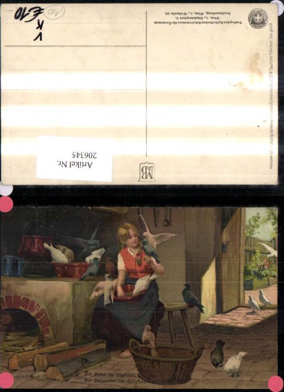 206345,Künstler Ak Meissner & Buch 1874 Deutsche Märchen Paul Hey Aschenputtel 0