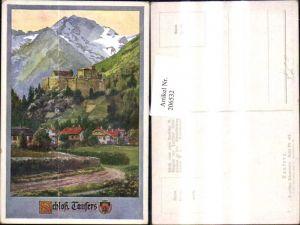 206532,Künstler AK E. F. Hofecker Deutscher Schulverein 419 Schloss Taufers