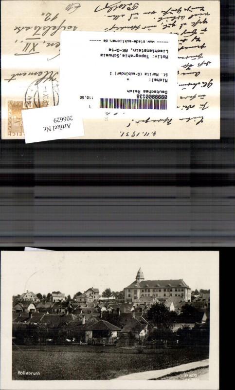 206629,Hollabrunn Teilansicht  0