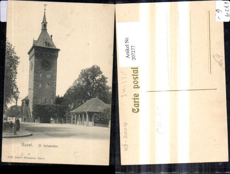 207277,Basel St Johanntor Turm