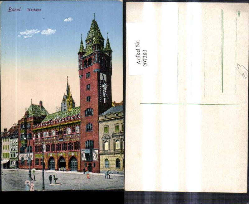 207280,Basel Rathaus