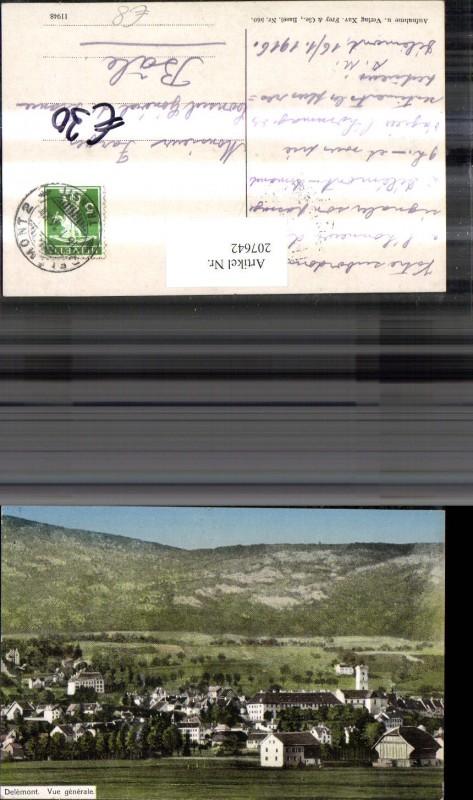 207642,Delemont Totale Kt Jura