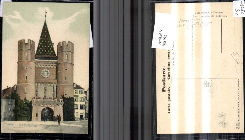208192,Basel Spalentor