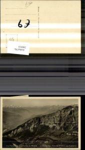 208810,Leukerbad Hotel Torrentalp et la Vallee du Rhone La Chaine des Alpes du Mont Blan aux Diablerets Kt Waalis