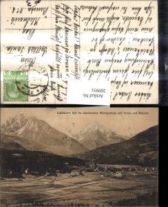 209951,Igls im Innsbrucker Mittelgebirge Totale m. Serles u. Habicht