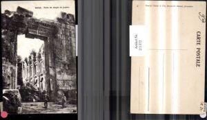 211372,Libanon Baalbek Balbek Porte du temple de Jupiter