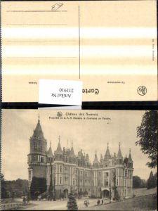 211910,Chateau des Amerois Propriete de S.A.R. Madame la Comtesse de Flandre Schloss