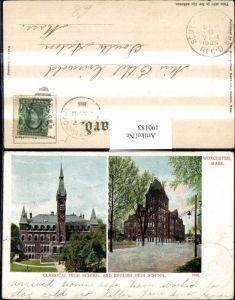 190183,Massachusetts Worcester Classical High School and English High School Schule