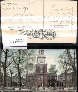 190339,Pennsylvania Philadelphia Independence Hall