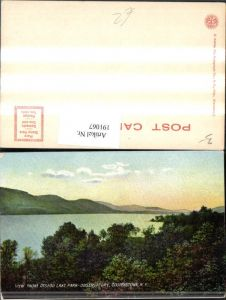 191067,New York Cooperstown View from Otsego Lake Park Observatory