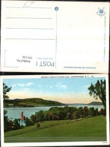 191136,New York Cooperstown General View of Otsego Lake