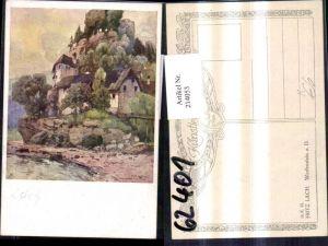 214053,Künstler AK Lach Fritz Werfenstein a. d. Donau pub Kilophot