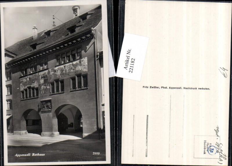 221182,Appenzell Rathaus