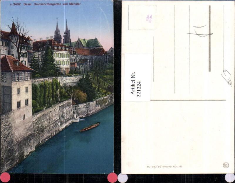221224,Basel Deutschrittergarten u. Münster