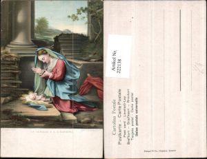 222138,Stengel & Co 29846 Künstler Antonio Correggio La Vergine e il S. Bambino Maria m. Jesuskind