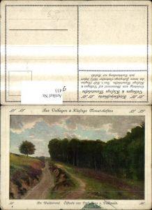 433,Künstler Ak Hans v. Volkmann Am Waldesrand Landschaft