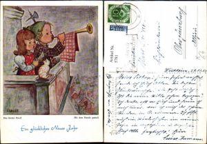 5781,Künstler Ak Mundgemalt Arnulf Erich Stegmann Das kleine Duett