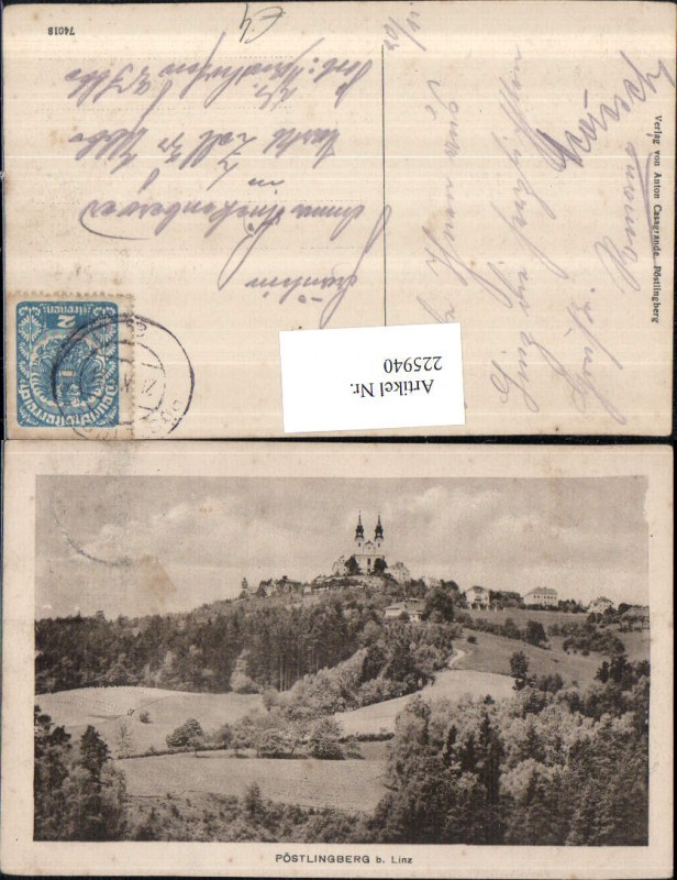225940,Linz a. d. Donau Pöstlingberg 0