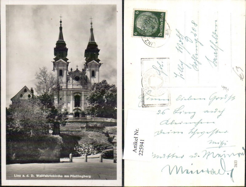225941,Linz a. d. Donau Wallfahrtskirche Kirche am Pöstlingberg 0