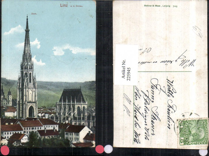 225945,Linz a. d. Donau Dom Kirche 0