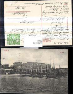 72082,Pola Arena Hafen Schiffe