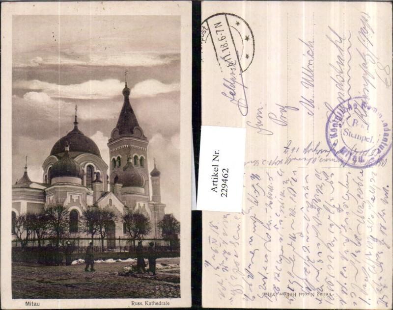 229462,Mitau Russische Kathedrale Kirche