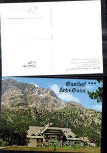 94297,Trentino Prags Braies Pustertal Südtirol Gasthof Albergo Hohe Gaisl