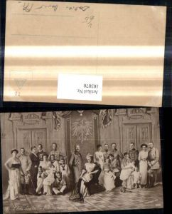 103070,Adel Monarchie Das Deutsche Kaiserhaus Gruppenbild Wilhelm II pub NPG 5385