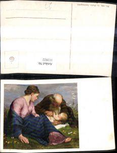 113922,Künstler Ak G. Winkler Familienglück