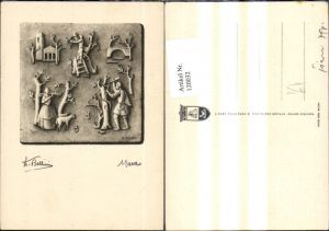 120032,Künstler Ak D. Bellini Marzo März