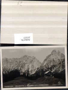 237577,Ennstaler-Alpen Mödlingerhütte Berghütte m. Reichenstein u. Sparafeld b. Admont