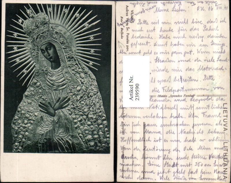 239590,Vilnius Ausros Vary Sv. Paneles pav. Madonna