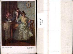 139254,Künstler Ak Rob. Scheffer Des Lebens Mai