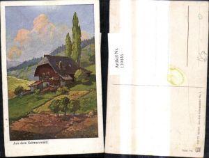 139446,Künstler Ak Fritz Reiss Aus dem Schwarzwald